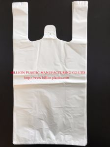 T-Shirt Bag Plastic Shopping Bag pictures & photos