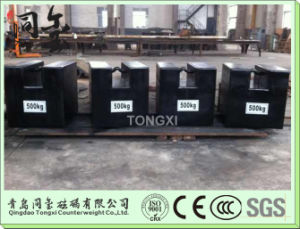 10kg 20kg Test Weight for Crane, Cast Iron Counter Weight pictures & photos