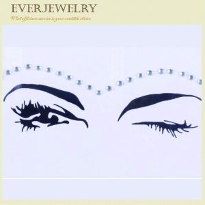 Crystal Diamond Sticker Face Gems in Rhinestones Face Decoration pictures & photos