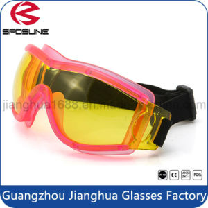 High Quality Wholesale Custom Logo Tactical Safety Goggle Customs Work Safety Glasses pictures & photos