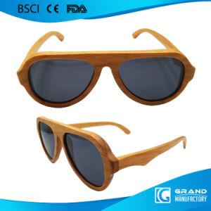 Wholesale China Big Frame Pilot Travel Wooden Sunglasses pictures & photos