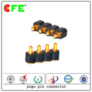 Single Row 4pin SMT Power Spring Loaded Pin Contacts pictures & photos