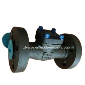 API602 1500lb 2500lb Forged Steel A105 Flange End Check Valve pictures & photos