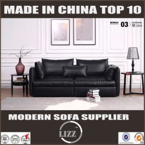 Home Furniture Leather Feather Sofa of Australia for Living Room pictures & photos