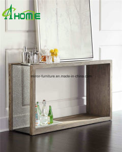 Living Room Glass Mirror Console Table/Vanity Furniture pictures & photos