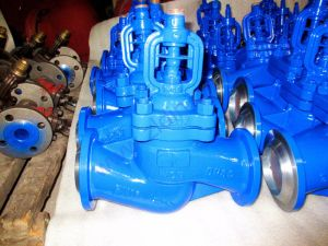 DIN Bellows Sealed Globe Valve with Bevel Welded Ends pictures & photos