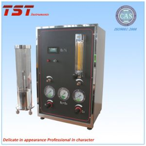 Plastics Combustion Min Oxygen Concentration Measurement-Oxygen Index Tester pictures & photos