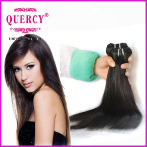 Wholesale Unprocessed Sew in Virgin Peruvian Human Hair Extensions Straight Hair pictures & photos