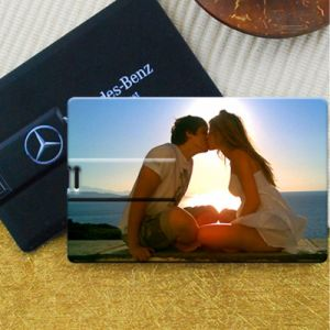 Full Color Logo Printing 4GB Customized Card USB Flash Drive pictures & photos