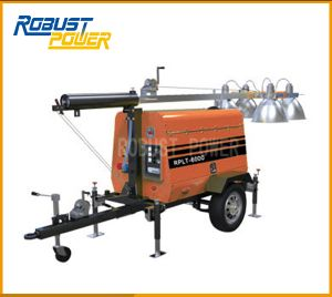 Construction Site Electric Emergency Generator Mobile Lighting Tower pictures & photos
