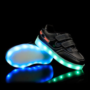 Hot New Style LED Children Shoes with Sport Shoes pictures & photos