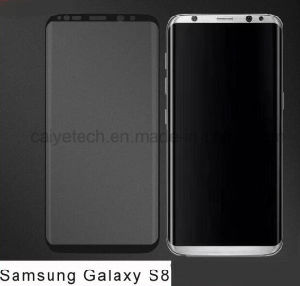 2017 New Model! ! !  Edge Curved Full Cover Tempered Glass Screen Protector OEM/ODM for Samsung Galaxy S8 pictures & photos