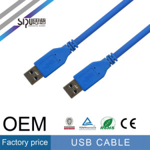 Sipu Factory Price Cu+CCS 2.0 Male to Male USB Cable pictures & photos