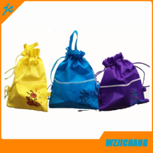 Back to School Use Non Woven Material Sling Bag pictures & photos
