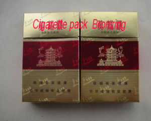 Qdtj Series Cigarette Package Bronzing Machine pictures & photos