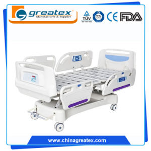 ICU Electric Hospital Beds Detachable ABS Side Rail (GT-XBE510) pictures & photos