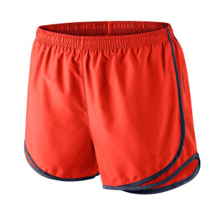 Men Sports Wear Polyester Training Running Shorts with Piping pictures & photos