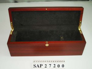 Hotsales Simplicity Matte Lacquer Wooden Storage Wine Gift Box pictures & photos
