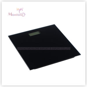 High Precision 0.1kg Glass+Plastic Electronic Weight Scale (30*30*2.2cmcm) pictures & photos