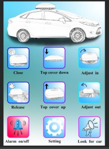 Remote Control Automatic Car Cover (no solar panel) pictures & photos
