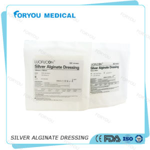 Huizhou Foryou Medical Diabetic Foot Ulcers Non-Adherent Contact Layer Dressing Alginate Fiber Alginate Gel Dressing Calcium pictures & photos