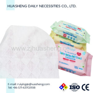 Nonwoven Disposable Cotton Facial Tissue & Baby Wipe, Factory Price pictures & photos