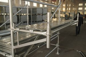 High Quality Ringlock System Scaffolding pictures & photos