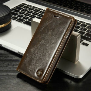 Luxury Leather Wallet Cell Phone Case for iPhone Phone Accessories pictures & photos