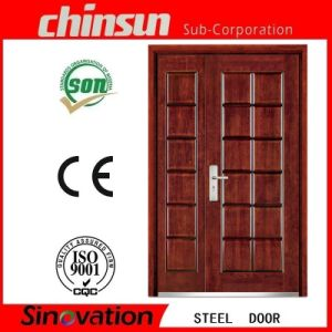 Hot Selling New Steel Security Door for Exterior (SV-S114) pictures & photos