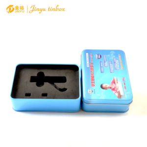 Rectangle Shaped Medical Disposable Needle Tin Box pictures & photos