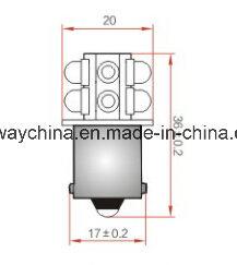 Ba15-Sb LED Bulb Components, 0603 Chip, 6V/12V/24V/48V Voltage, 3 Years′ Warranty, 5 Colors pictures & photos