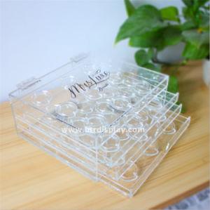 Acrylic Luxury Eyelash Packaging Box Manufacturer Btr-B70109 pictures & photos