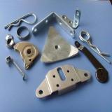 Precision Aluminum/Brass White Powder Coating Zinc Galvanize Die Stamping Parts pictures & photos