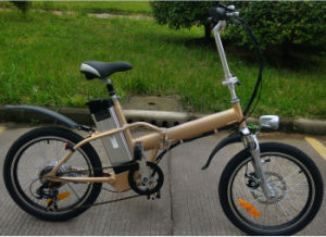High Performance Ebike/Ebicycle 36V 250W Folding Electric Bike with Steel Front Fork pictures & photos
