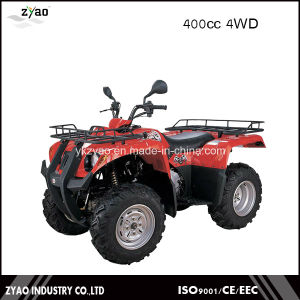Shaft Drive Transmission System and CVT Transmission Type Quad 400cc ATV pictures & photos