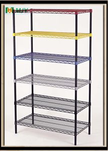 Coloured Wire Shelving pictures & photos