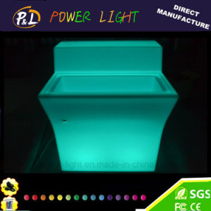 LED Furniture Glowing Straight LED Bar Counter pictures & photos