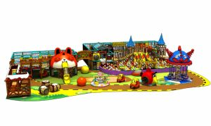 Novel Design Sweet Candy Theme Indoor Children Playground pictures & photos