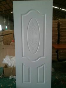 White Colour Solid Wood Composite Interior Room Door for Middle East (DS-024) pictures & photos