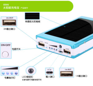Solar Power Banks 6000mAh Mobile Accessories