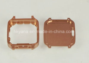 Precise Watch Housing Case Parts, CNC Machined Parts with Anodizing Color pictures & photos