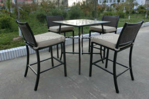 Wicker Bar Set with Half Round Wicker pictures & photos