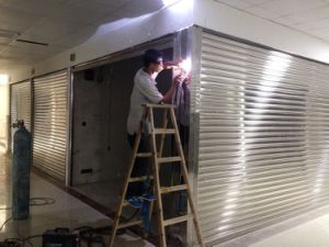 Stainless Steel Rolling Shutter Door / Roller Shutter Door pictures & photos