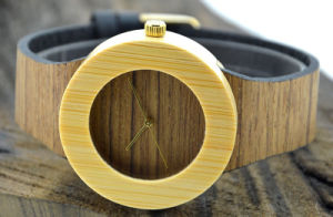 High Quality Luxury Nobility Wood Grain Wooden Watch pictures & photos