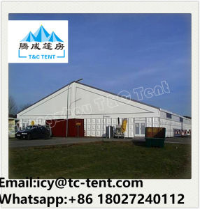 Aluminum Ridge Shape Temporary Warehouse Tent for Military pictures & photos