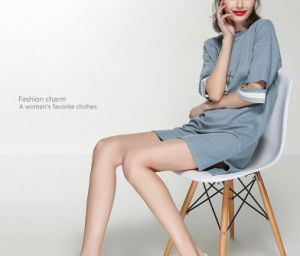 Spring Round Neck Special Sleeve Elegant Women′s Dress pictures & photos