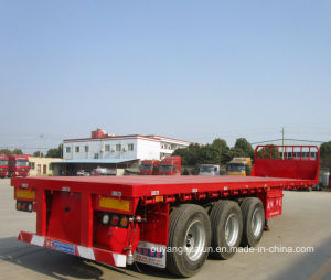 10.5 Meters Flatbed Semitrailer pictures & photos