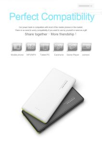 Pineng New Slim Power Bank Charger 10000mAh (PN-951) pictures & photos