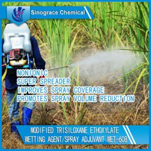 Modified Trisiloxane Ethoxylate Wetting Agent/Spray Adjuvant (WET-608) pictures & photos