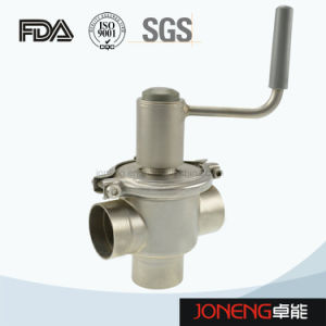 Fluid Control Food Grade Stainless Steel Valve (JN-1005) pictures & photos
